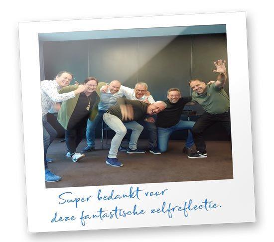 Teambuilding / workshop met directie van de KNVB