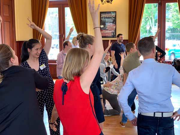 Unieke Workshop / teambuilding van Teamspeling met jong professionals