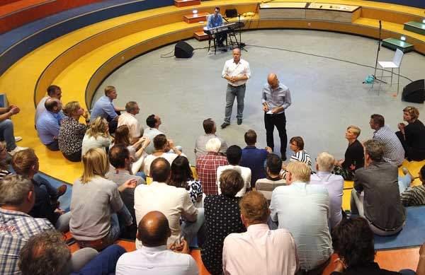 Teambuiding show van Teamspeling. Met workshops en