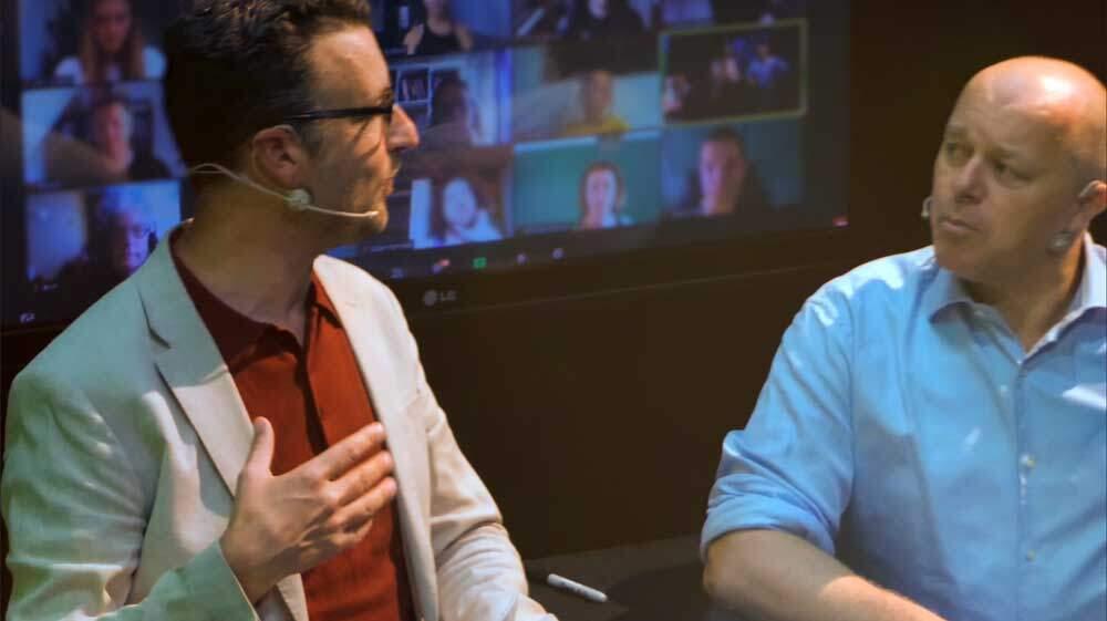 Studio Teamspeling Besprek Bedrijf