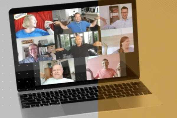 Online teambuilding met leuke oefeningen